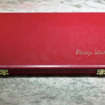 Philip Watch rare vintage big watch box big size red caribbean...