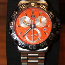 TAG Heuer F1 Chrono Orange