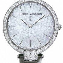 Harry Winston [NEW] Premier Ladies 39mm quartz 18K white gold