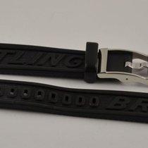 Breitling Kautschuk Armband Band 16mm 16-14 Mit Dornschliesse