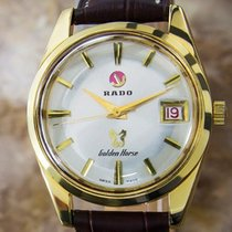 Rado Vintage Swiss Golden Horse Gold Plated Automatic Mens...