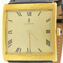 Corum Buckingham Solid 18k Yellow Gold 35mm Manual Wind Swiss...