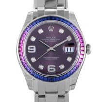 Rolex Oyster Perpetual Datejust Pearlmaster 39 Womens Watch...