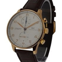 IWC IW371480 Portuguese - Automatic Chronograph - Rose Gold on...