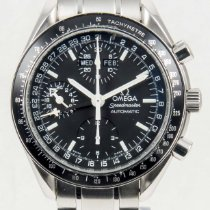 Omega Speedmaster Day Date Black Chronograph 3520.50 Steel