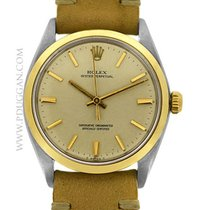 Rolex vintage stainless steel and 14k yellow gold Gent's...