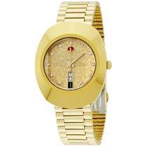 Rado Original Gold Dial Stainless Steel Men's Watch R12413643
