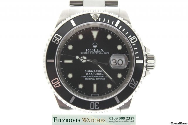 Rolex Submariner Date 16610