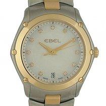 Ebel Classic Sport Lady Stahl/Gelbgold Diamond Perlmutt 27mm