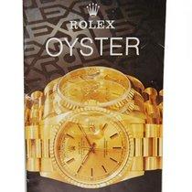 Rolex Oyster Katalog aus 1990 J.