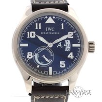 IWC 18K White Gold Saint Exupery Limited Edn Power Reserve Watch