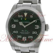 Rolex Air-King 40mm, Black Dial, Domed Bezel - Stainless Steel...