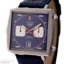 Heuer Vintage MONACO Chronograph Ref-1133B Steve McQueen...