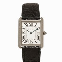 Cartier Tank Solo Wristwatch, Ref. 2715, 1990s