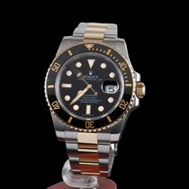 勞力士 (Rolex) Submariner Date 300m Steel and Gold Black Ceramic