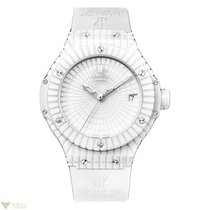 Hublot Big Bang 41 mm Caviar White Ceramic Rubber Unisex Watch