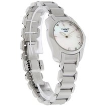 Tissot T-Wave Ladies MOP Diamond Swiss Quartz Watch T023.210.1...