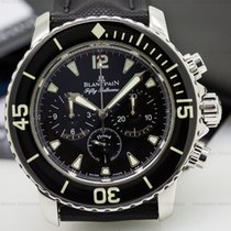 Blancpain 5085-1130-52 Fifty Fathoms Chronograph SS / Kevlar...