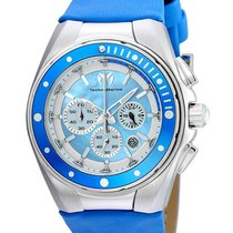 Technomarine Manta Ray Lady Chronograph  - Steel - Blue Mother...
