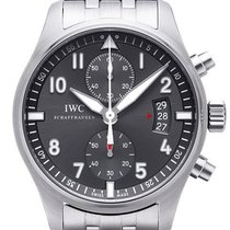 IWC Spitfire Chronograph Stahlband IW387804
