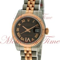 Rolex Datejust Ladies 26mm, Chocolate Diamond Roman VI Dial,...