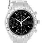 Omega Speedmaster Date Black Dial Chronograph Mens Watch...