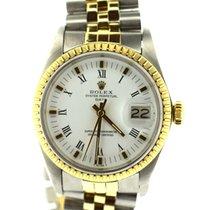 Rolex Date rolesor Yellow jubilee bracelet