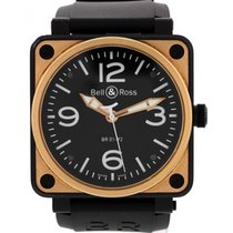Bell & Ross Men's Bell & Ross Aviation 18K Rose...