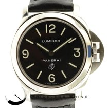 Panerai Luminor Base Logo Pam 000 Steel Manual Wind W/ Box...