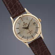 Omega Constellation 18ct gold 'Pie-Pan' automatic watch
