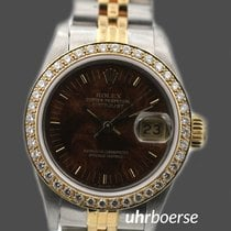 Rolex Oyster Perpetual Date Lady mit Brilliant-Lünette