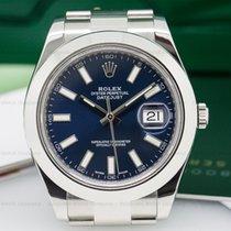 Rolex 116300 Datejust II SS Blue Dial (25187)