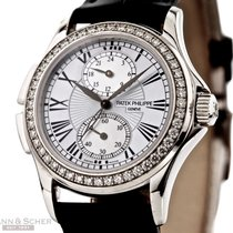 Patek Philippe Travel Time Ref-4934G-001 White Gold Diamonds...