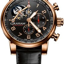Graham 2TSAR.B04A Silverstone Tourbillograph in Rose Gold - on...