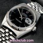 Rolex Datejust White Gold Bezel - Classic Model