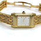 Jaeger-LeCoultre Lady's Reverso Yellow Gold , Diamond Case...