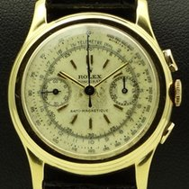Rolex Piccolino, Vintage Chronograph ref. 3055 18 kt yellow gold