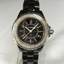 Chanel J12 Diamants 33 mm Révision Chanel Avril 2016, comme neuf