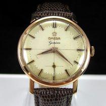 Omega Geneve Vintage 18K Solid Rose Gold