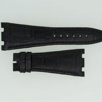 Audemars Piguet Lederband / Alligator / Schwarz - 28/18 Länge...