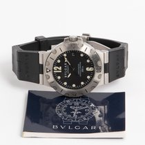 Bulgari Scuba SD38S with papers