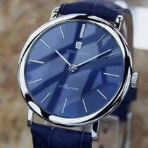 Waltham Maxim Swiss Made 1970s Stainless Steel Manual Mens...