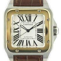 Cartier Santos 100 Acc-Oro 12/2009 art. Ca104