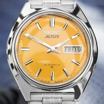 Seiko Actus Mens Vintage Day Date Automatic Made In Japan...