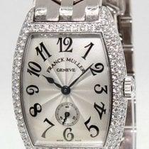 Franck Muller Cintree Curvex 18k White Gold Diamond Ladies...