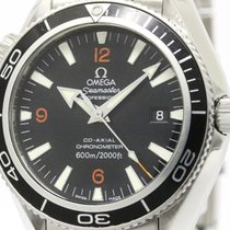 Omega Polished Omega Seamaster Planet Ocean Co-axial Automatic...