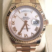 Rolex Day/Date President 218235 18K Rose Gold/Ivory Dial,...