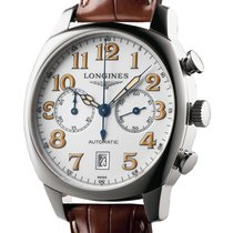 Longines Spirit Stainless Steel Automatic Chronograph Ref....