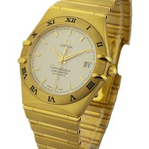 Omega 1102.30 Constellation Classic - Large Size - Yellow Gold...