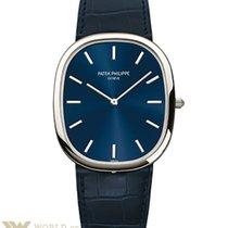 Patek Philippe Golden Ellipse Platinum Men's Watch